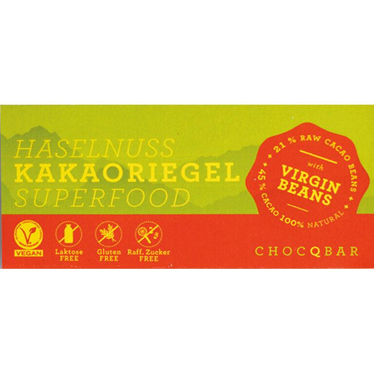 Superfood Kakaoriegel - Haselnuss (BIO)* | Artikelnummer: CH110321