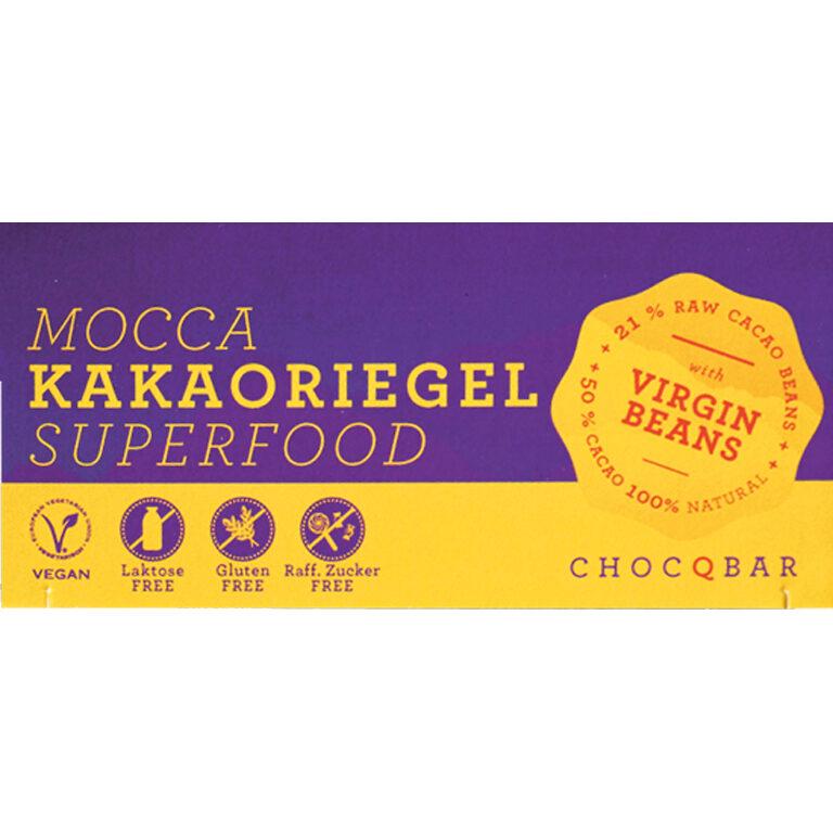 Superfood Kakaoriegel - Mocca (BIO)* | Artikelnummer: CH110421