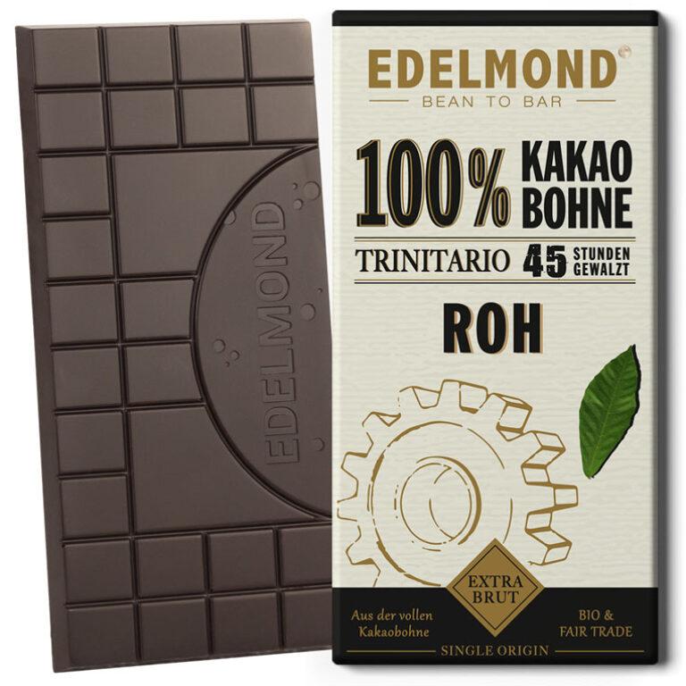 Rohe 100% Schokolade (BIO)* | Artikelnummer: ED033