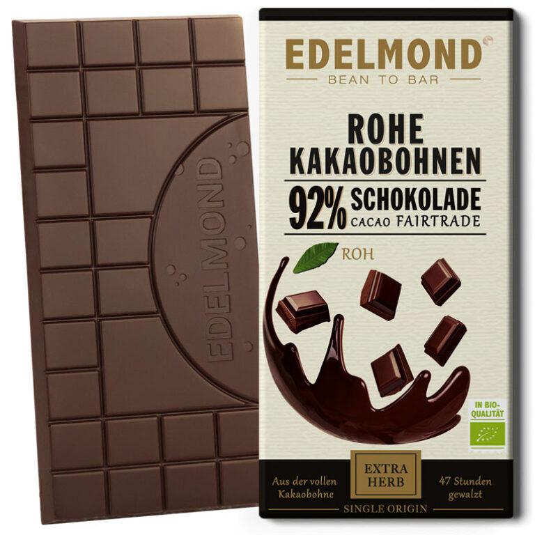 Rohe 92% Schokolade (BIO)* | Artikelnummer: ED039