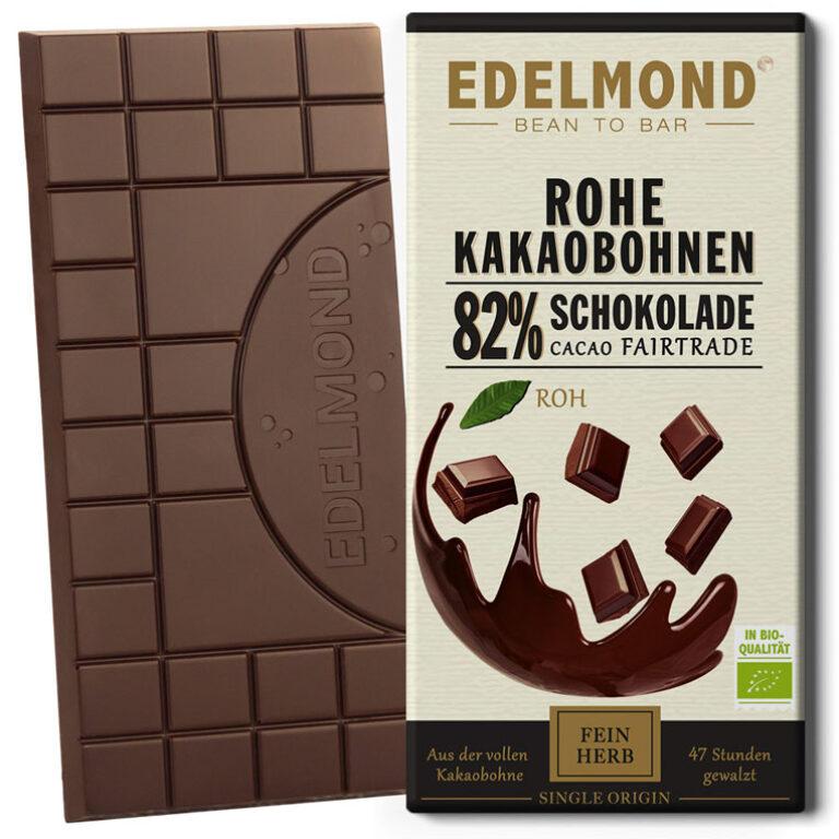 Rohe 82% Schokolade (BIO)* | Artikelnummer: ED042