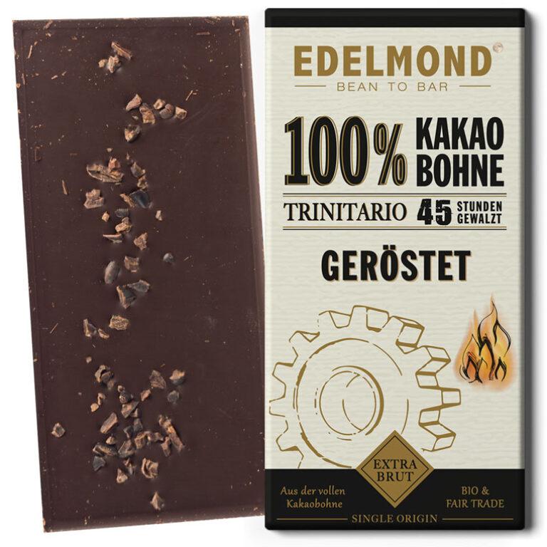 Geröstete 100% Schokolade (BIO)* | Artikelnummer: ED100