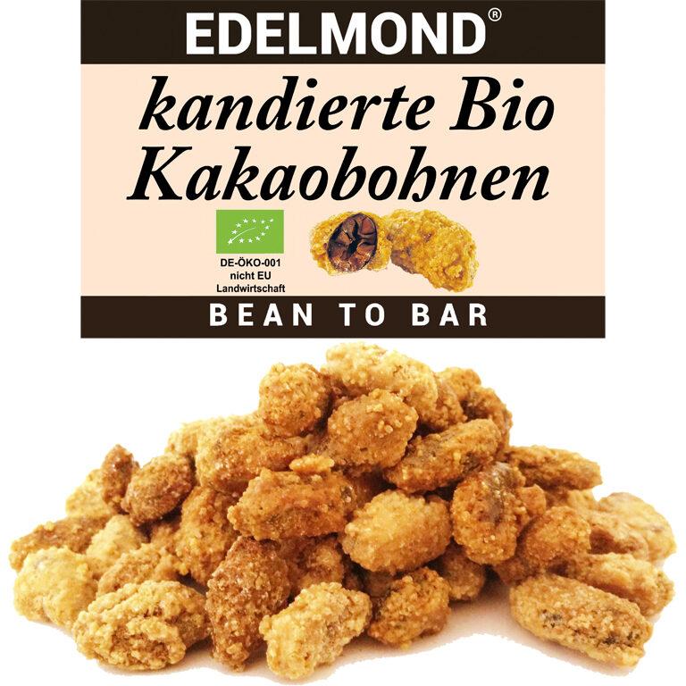 Kakaobohnen kandiert (BIO)* | Artikelnummer: ED222