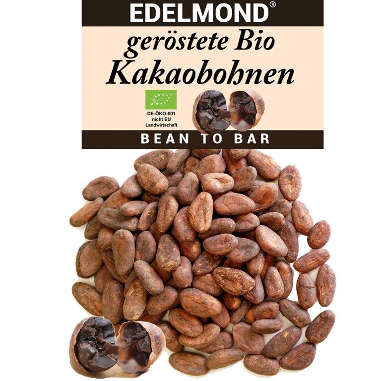 Kakaobohnen geröstet (BIO)* | Artikelnummer: ED226