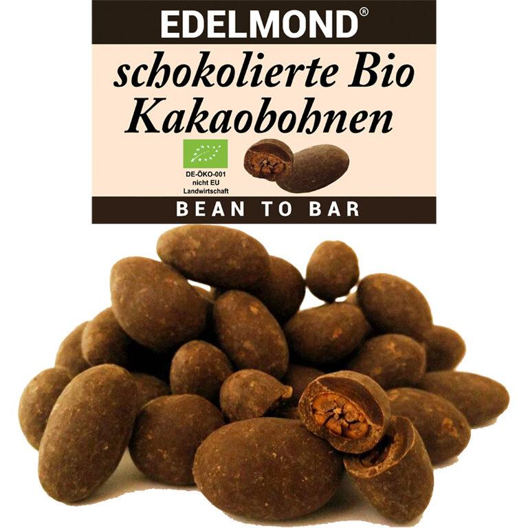 Kakaobohnen schokoliert (BIO)* | Artikelnummer: ED227