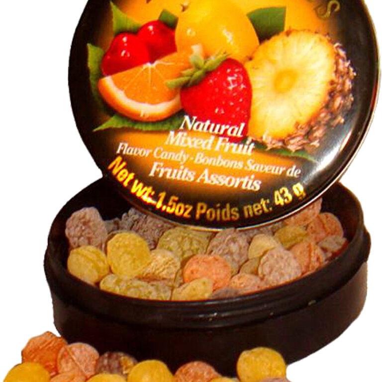Bonbondöschen gemischte Früchte | Artikelnummer: EH1237