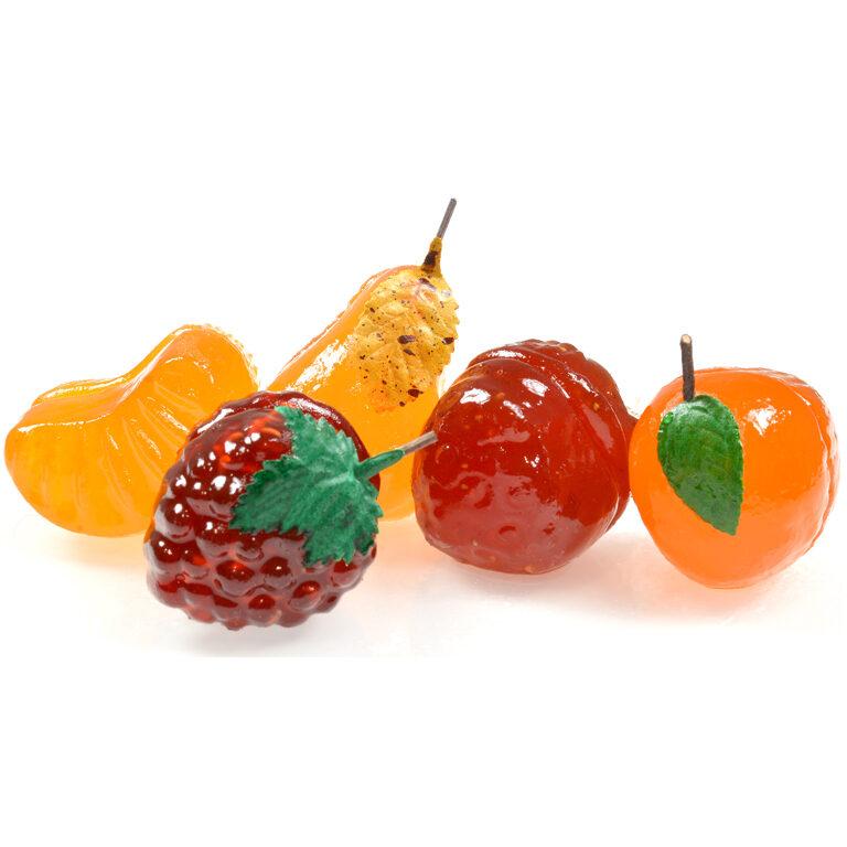 Glasierte Fruchtpastenfrüchte   Artikelnummer: EH3118