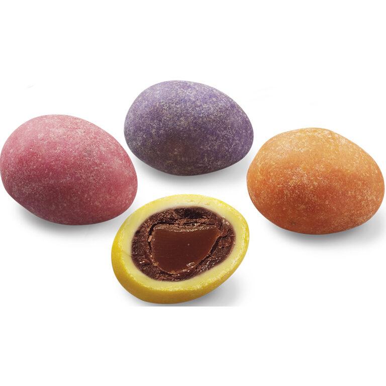 Bunte Eier - Schokolade-Karamell-Füllung | Artikelnummer: EH4148