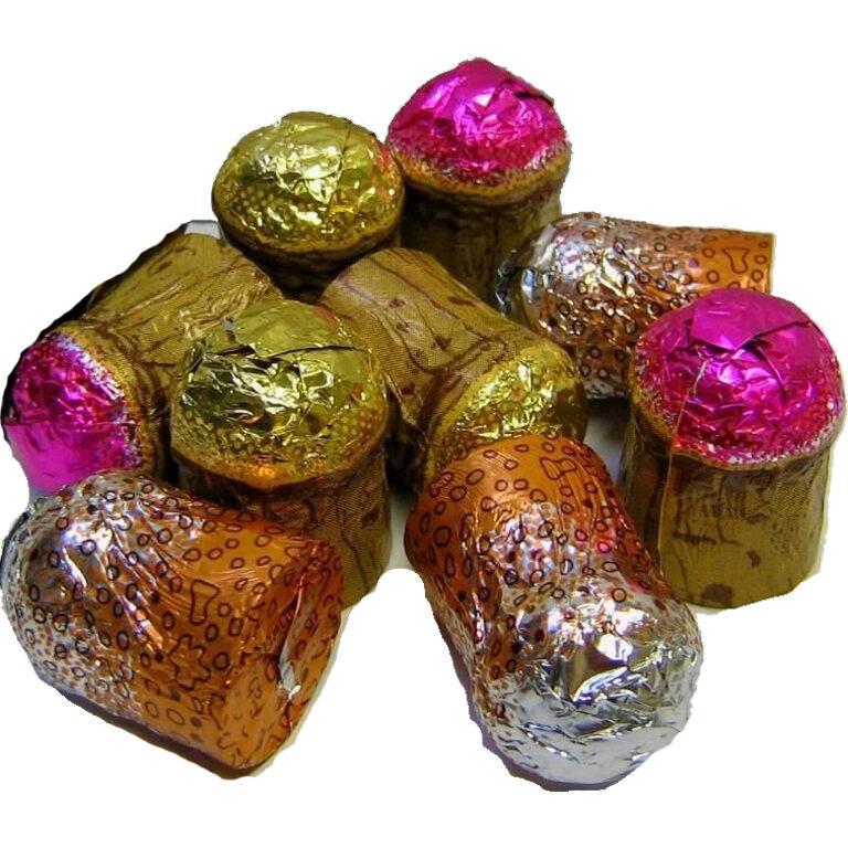 Bouchons Chocolat Le Trio Champenois | Artikelnummer: EH4954