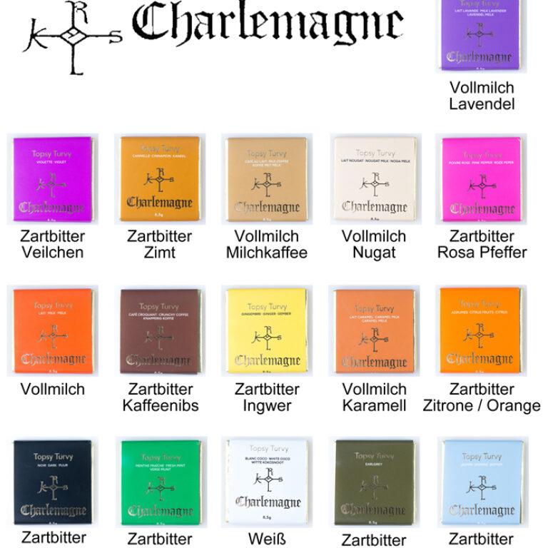 Charlemagne Nachfüllkarton Carrés | Artikelnummer: EH5090