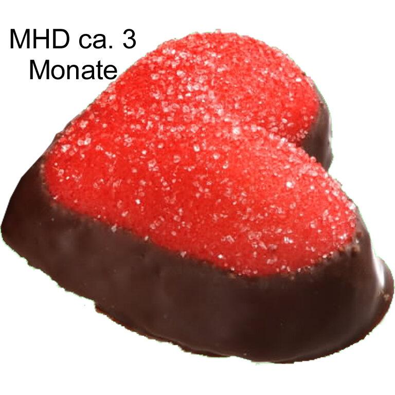 Cassis-Edelmarzipan-Herz | Artikelnummer: FM5261