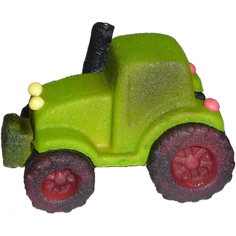 Traktor grün mit roten Felgen | Artikelnummer: FM62412