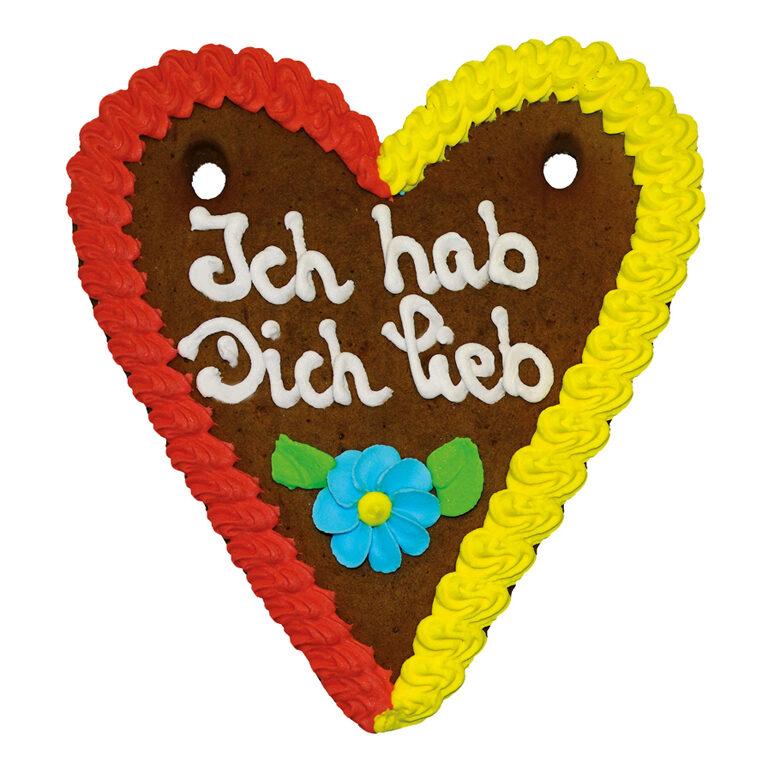 Lebkuchenherz Spruch 21x18 cm | Artikelnummer: FY020