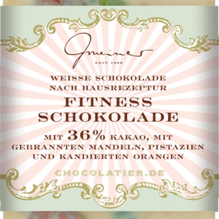 Edel-Weiße 36% - Fitness Schokolade | Artikelnummer: GM11165