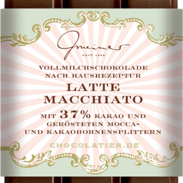 Edel-Vollmilch 37% - Latte Macchiato | Artikelnummer: GM11177