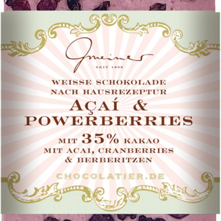 Edel-Weiße 35% - Acaí & Powerberries | Artikelnummer: GM11233
