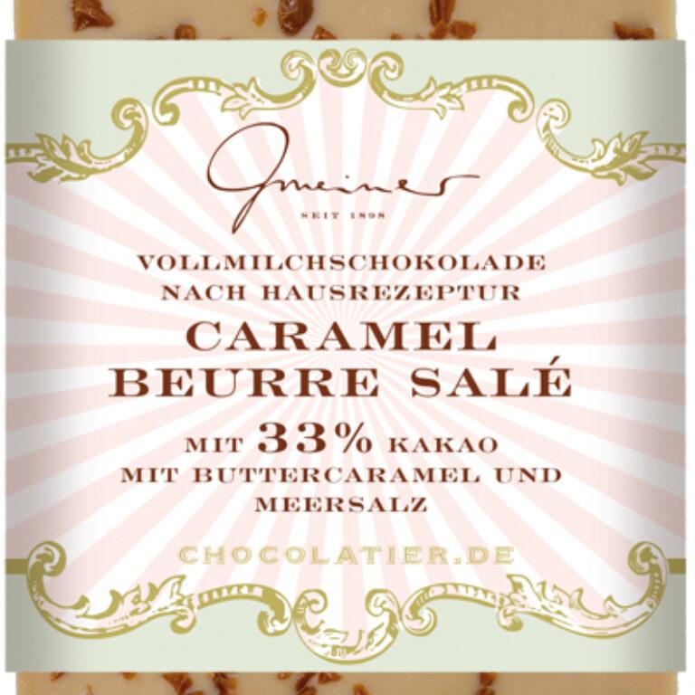 Edel-Vollmilch 33% - Caramel Beurre Salé | Artikelnummer: GM11282
