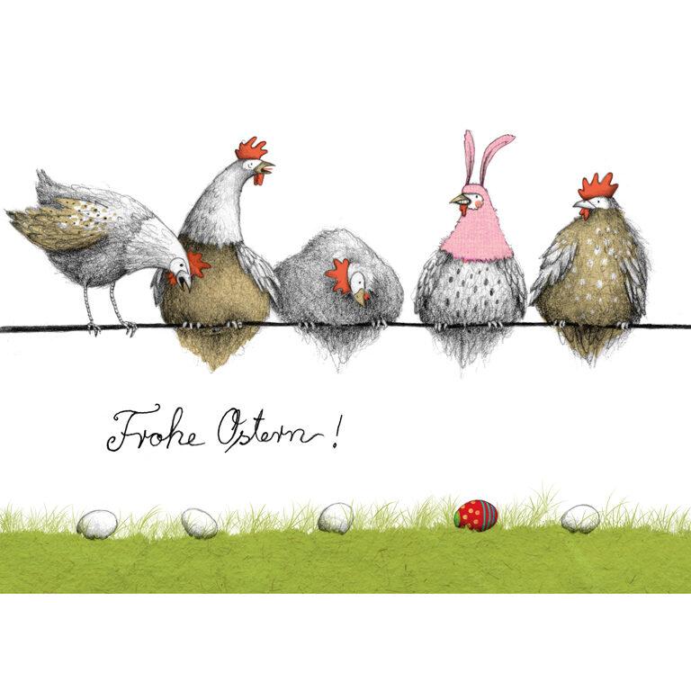 Edelbitter - Frohe Ostern Hühner (BIO)* | Artikelnummer: KR4552