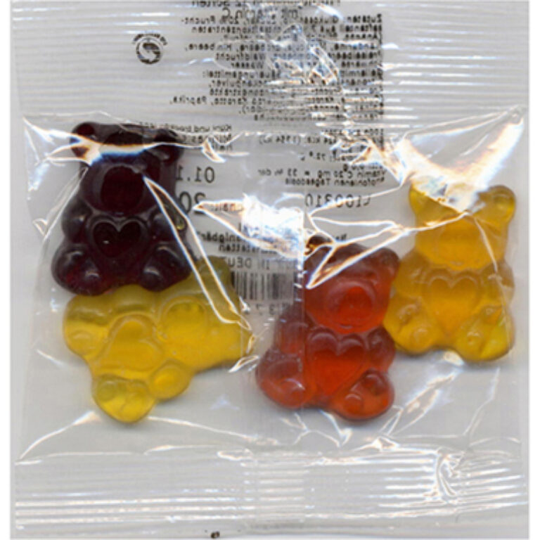 Fruchtsaftbären im Mini-Beutel 300 x 20 g | Artikelnummer: MA110