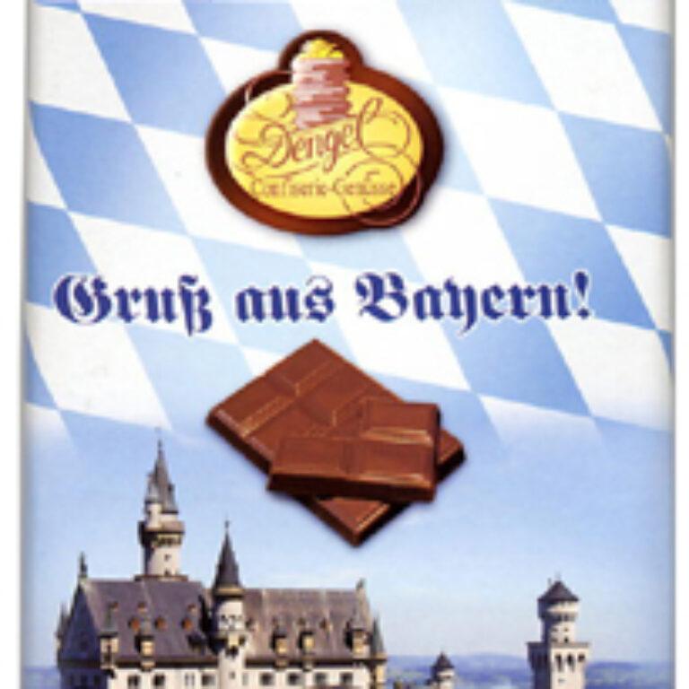 Edel-Vollmilch - Gruß aus Bayern | Artikelnummer: MET141