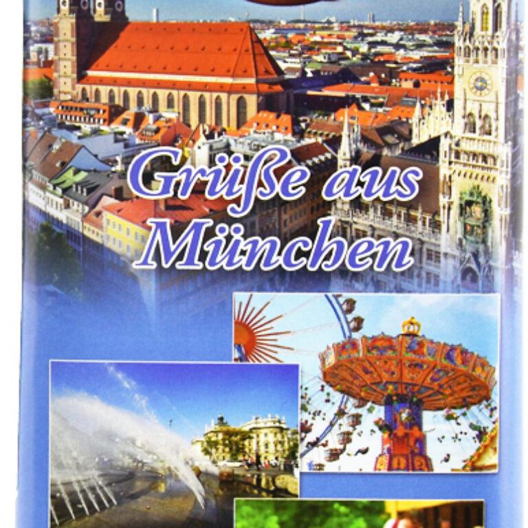 Edel-Vollmilch - Grüße aus München | Artikelnummer: MET185