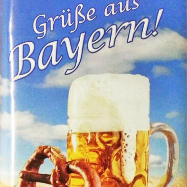 Edel-Vollmilch - Grüße aus Bayern - Brotzeit | Artikelnummer: MET196