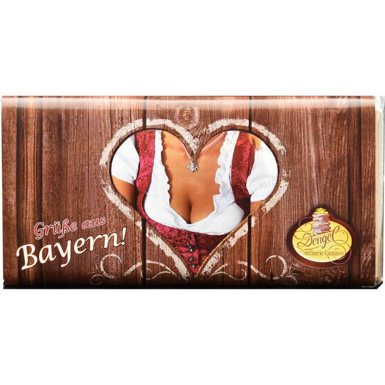 Grüße aus Bayern - QUER - Dirndl | Artikelnummer: MET230