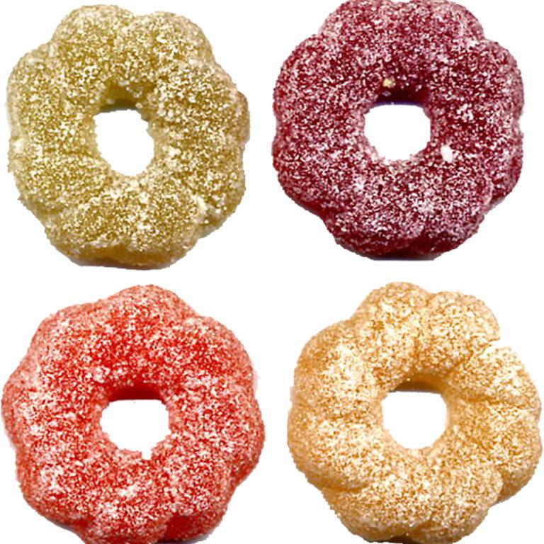 Fruchtmark-Ringe gezuckert | Artikelnummer: PE023