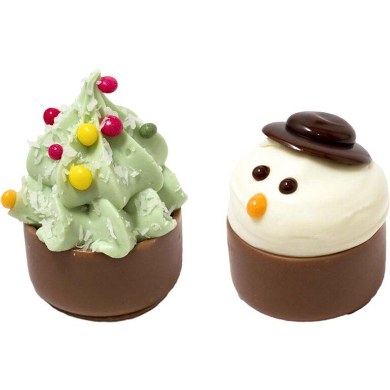 CupCake Schneemann & Weihnachtsbaum | Artikelnummer: RI922022