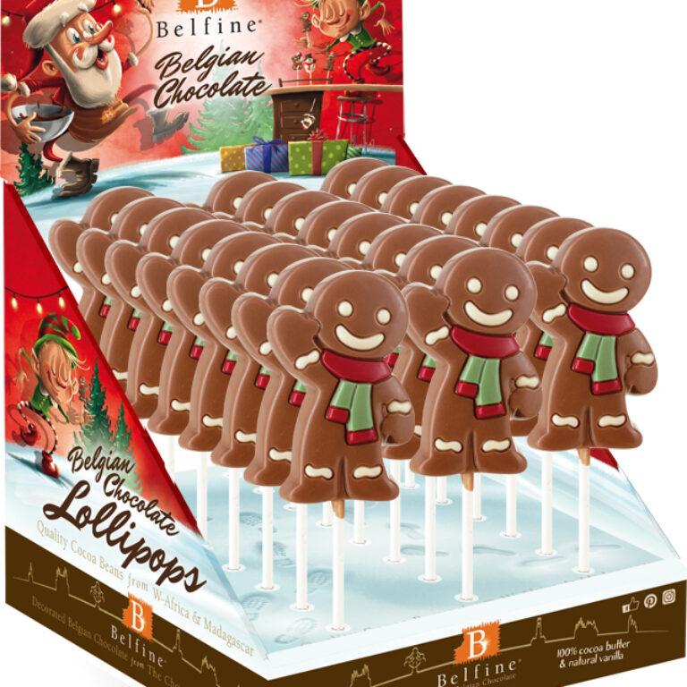 Lutscher Gingerbread Man | Artikelnummer: RIL04KMD