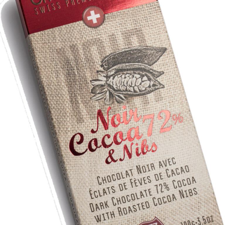 NOIR - Cocoa 72% & Nibs | Artikelnummer: SE41175