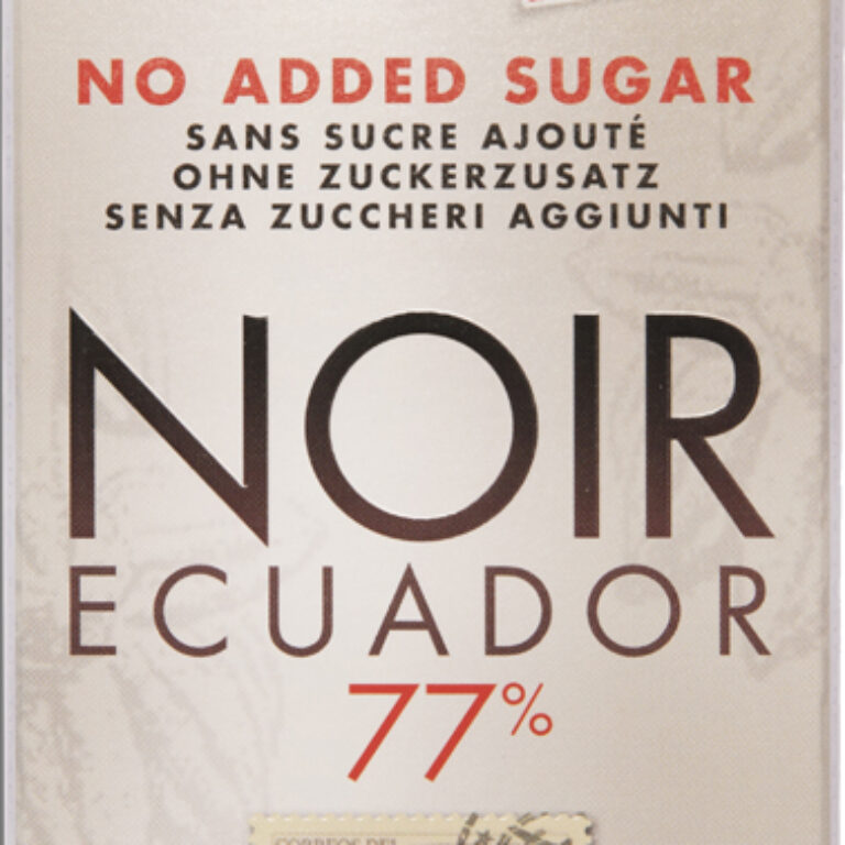 NOIR Ecuador 77% ohne Zuckerzusatz | Artikelnummer: SE47586