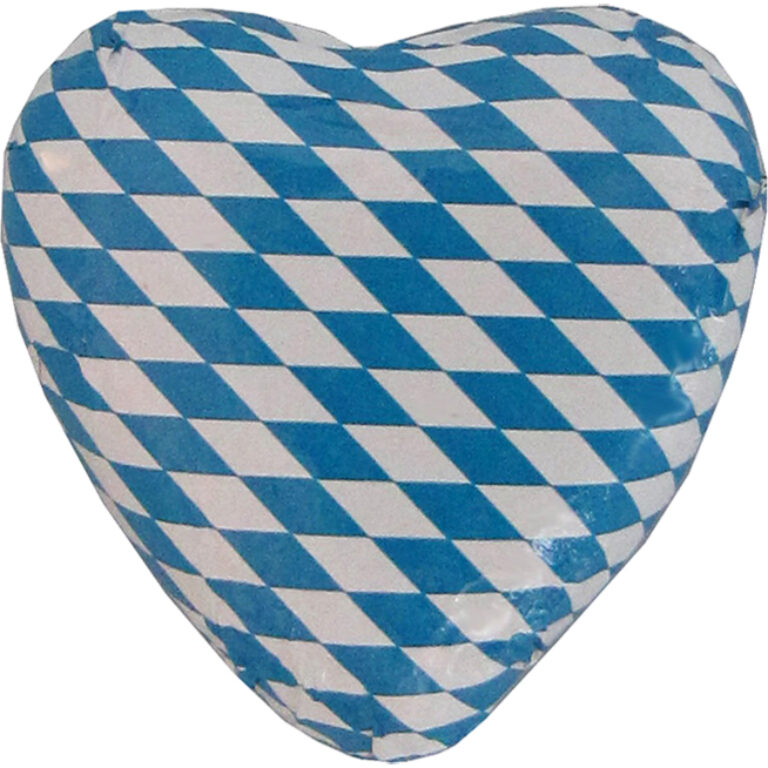 Bayern-Herz weiß/blau | Artikelnummer: ST57430
