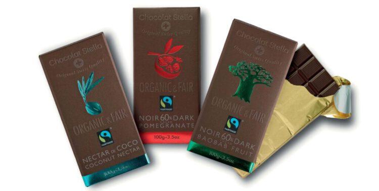 Unsere Bio & Fair Schokoladentafeln