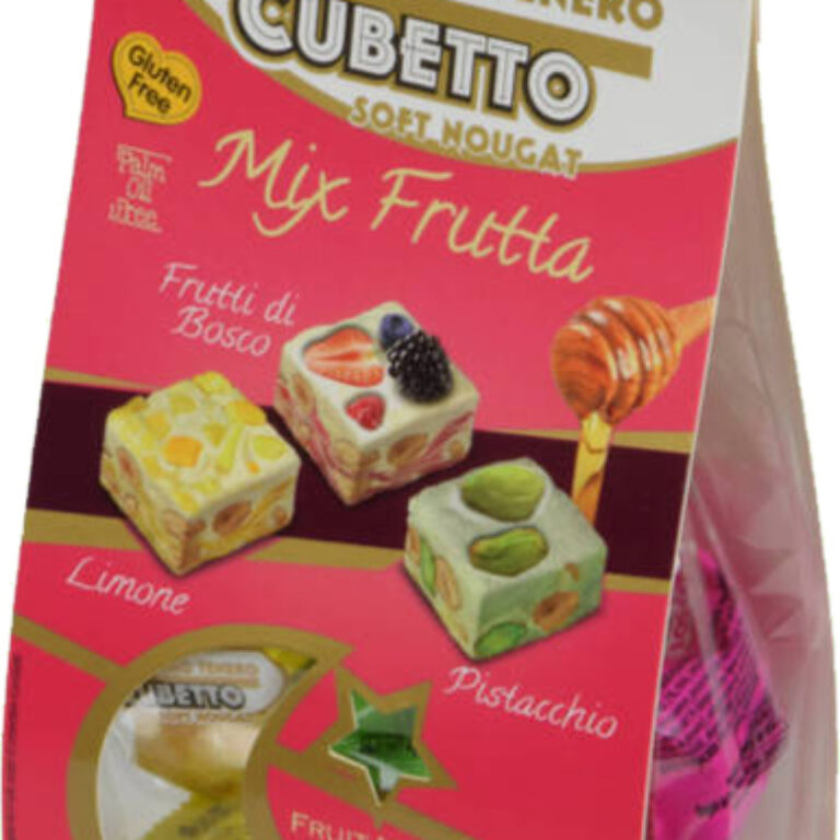 Soft Nougat ''Cubetto'' Mix Frutta | Artikelnummer: SZ1102