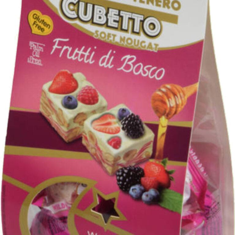 Soft Nougat ''Cubetto'' Frutti di Bosco | Artikelnummer: SZ1107