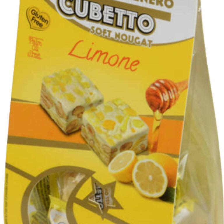 Soft Nougat ''Cubetto'' Limone | Artikelnummer: SZ1109