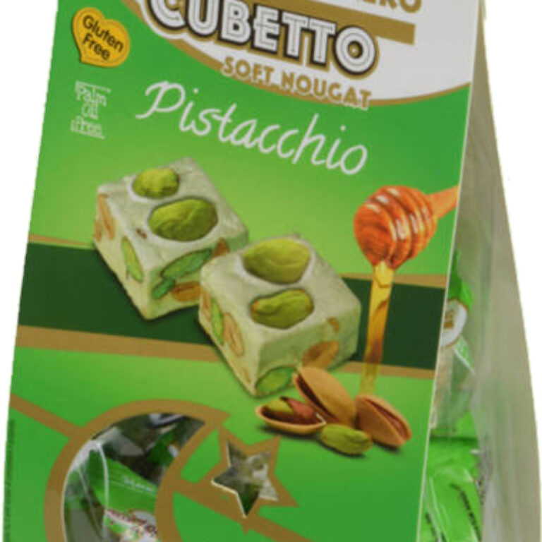 Soft Nougat ''Cubetto'' Pistacchio | Artikelnummer: SZ1110