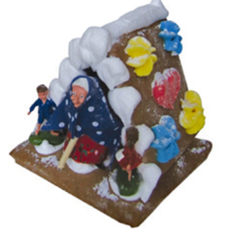 Hexenhaus mit Plastik-Figuren | Artikelnummer: WO9708